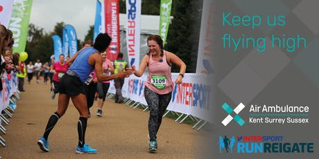 Run Reigate - Air Ambulance Kent Surrey Sussex tickets