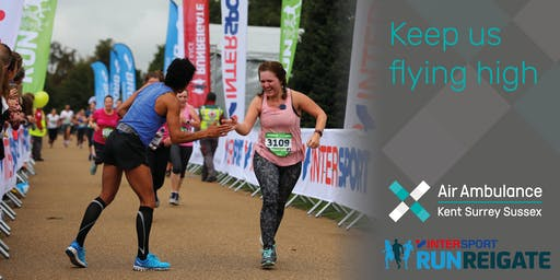 Run Reigate - Air Ambulance Kent Surrey Sussex