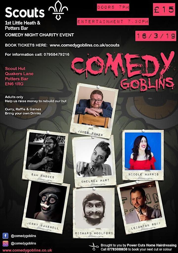 Fundraising Comedy Night image
