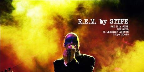 R.E.M. by STIPE - R.E.M. Tribute night.  tickets