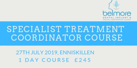 Specialist Treatment Coordinator Course tickets