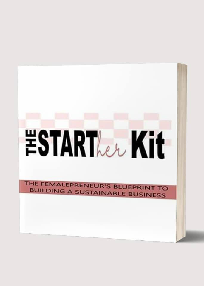 THE STARTher KIT BOOK RELEASE LITTLE BLACK DR