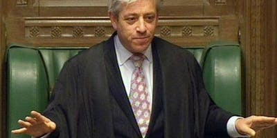 An Audience with the Rt Hon. John Bercow