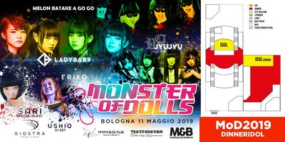 Monster of Dolls 2019 - MoD2019 + DINNERIDOL ONLY PAYPAL