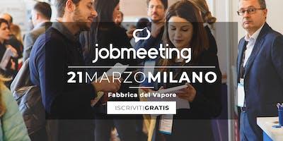 Il 21 Marzo Job Meeting Arriva A Milano Incontra Milano