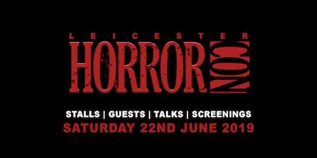 Leicester Horror Con 2019 tickets