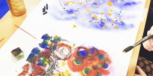 Drink & Draw - Drawn to Music - Kandinsky