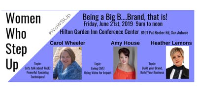 Women Who Step Up:  Business Seminars for Women