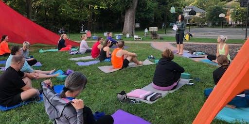 Yoga in the Park with Hanafin Yoga & Meditation