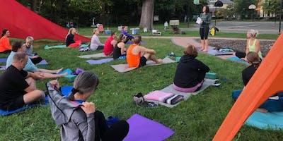 Yoga in the Park with Hanafin Yoga & Meditation; 10 SESSION BUNDLE