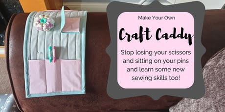 Make a Fabulous Craft Caddy! tickets