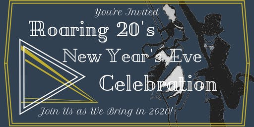 New Years Eve Roaring Twenties Celebration