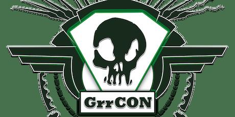 GrrCON  '19 tickets