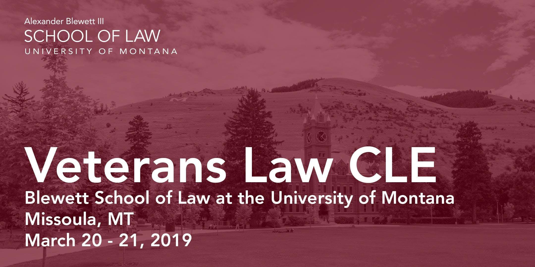 Veterans Law CLE