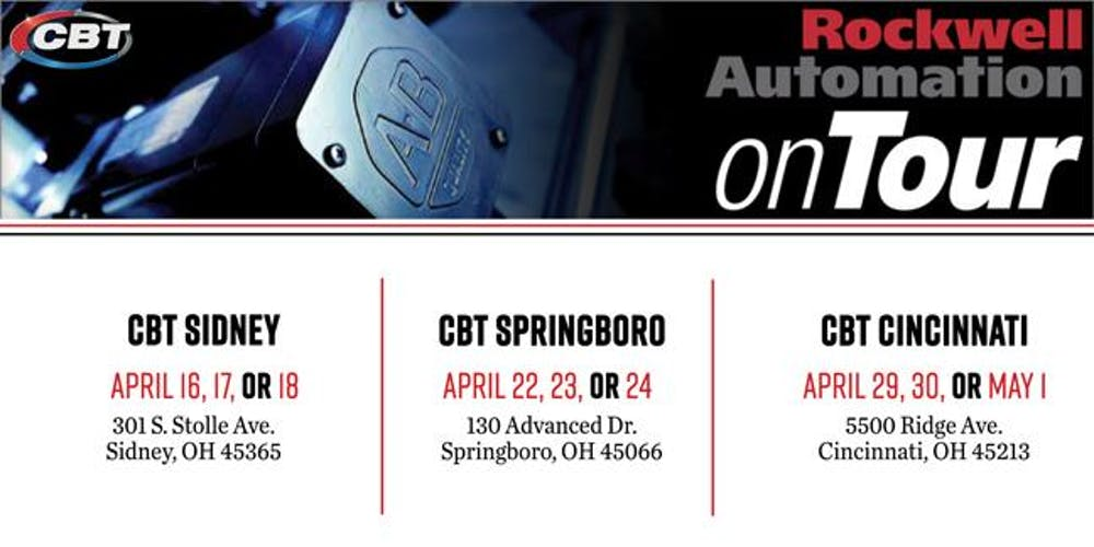 2019 Rockwell Automation On Tour Cbt Sidney Tickets Multiple Dates Eventbrite
