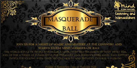 CW Mind Masquerade Ball tickets