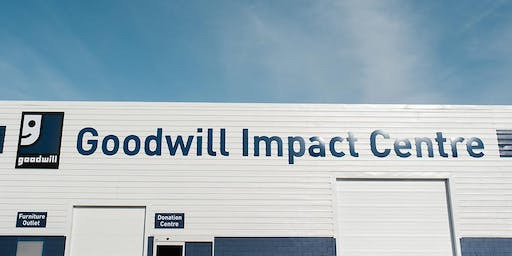 Goodwill Impact Centre Tour with Waste Free Edmonton