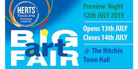 Herts Visual Arts 2019 Big Art Fair (Hitchin Town Hall) tickets