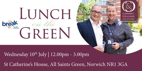 Lunch on the Green 2019 tickets