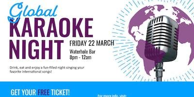 University Portsmouth Global Karaoke Night