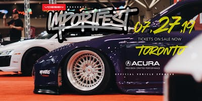 BUY TICKETS TO IMPORTFEST 2019 - CANADA\