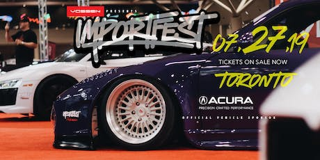 BUY ADVANCE TICKETS TO IMPORTFEST 2019 - CANADA'S LARGEST CAR SHOW! tickets