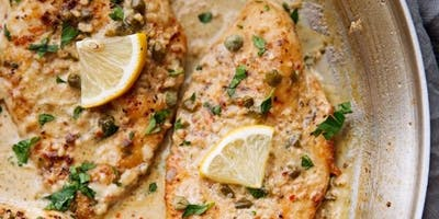Chicken Piccata & Homemade Pasta Hands-On Cooking Class