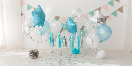 Curso decoración con globos tickets