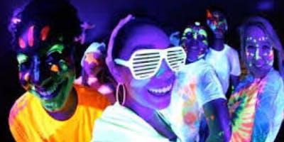 Neon Glow Party Bar Crawl