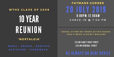 Warren Township High School Class of 2009: 10 Year Reunion