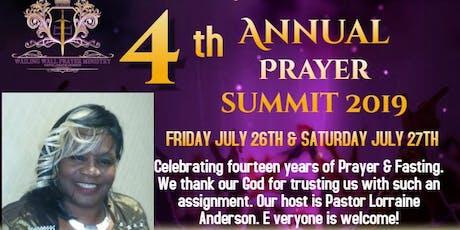 WAILING WALL PRAYER SUMMIT ~ PRAYING IT THROUGH THE ALTAR tickets