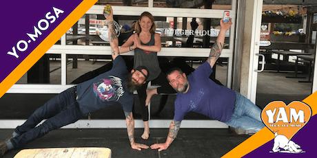 YO-MOSA Power Vinyasa Flow Yoga Class tickets