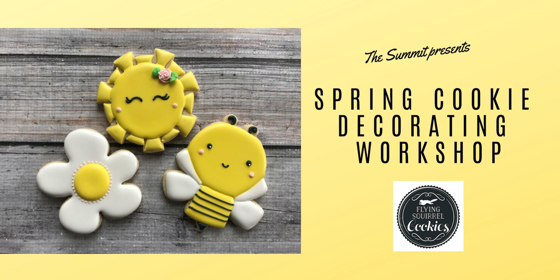 Spring Cookie Decorating Workshop - March 21