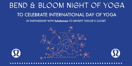 Bend and Bloom Night of Yoga tickets