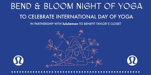 Bend and Bloom Night of Yoga