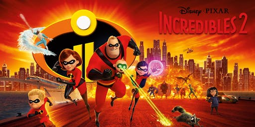 Incredibles 2 - Movies Under the Stars