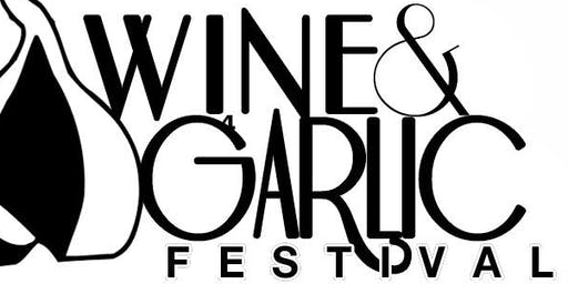 29th Virginia Wine & Garlic Festival, 10am - 5pm, Saturday & Sunday October 12th & 13th 2019