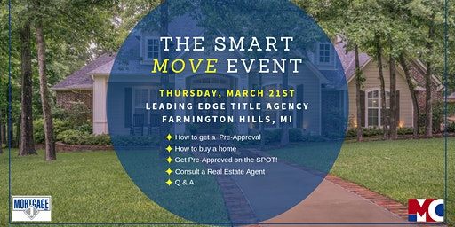 The Smart MOVE Event - FREE!