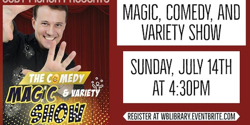 Cody Fisher Comedy, Magic, and Variety Show