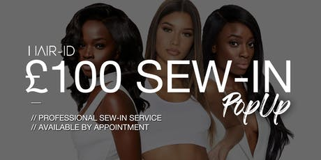 Hair-iD: Wig Shop Pop-up £100.00 Sew-in tickets