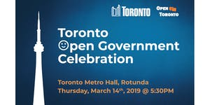 2019 Toronto Open Government Celebration