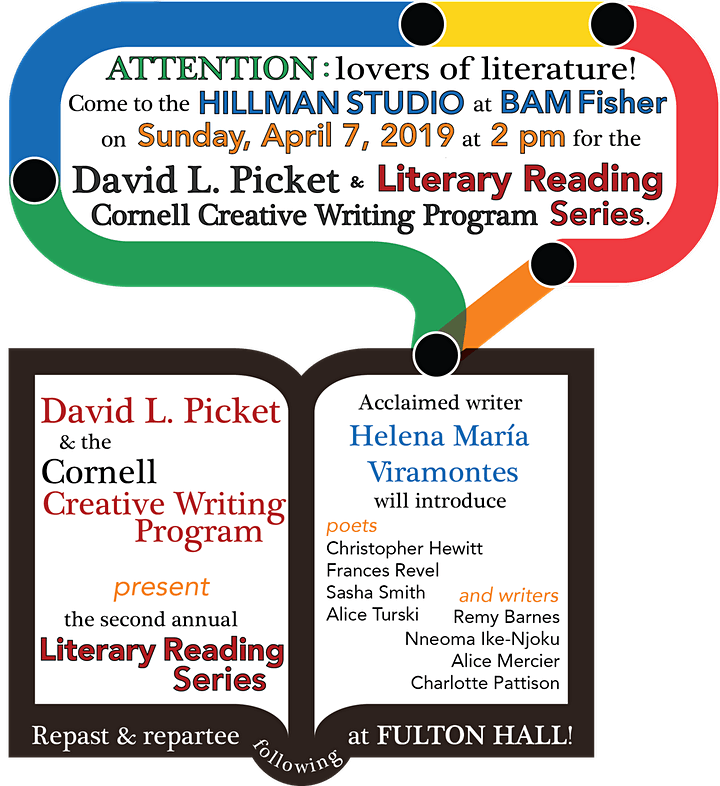 David Picket & the Cornell Creative Writing Program Literary Reading Series image