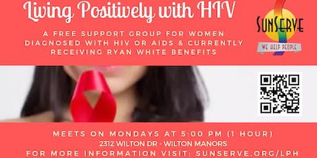 Living Positively with HIV - Free Support Group For Women tickets