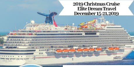 2019 Christmas Cruise tickets