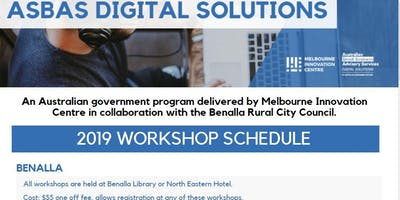 ASBAS - BENALLA DIGITAL SOLUTIONS SERIES 2019 - 10 workshops for $55