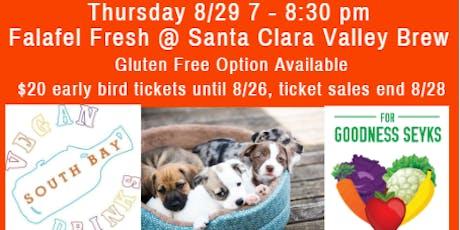 August Vegan Food, Friends, Beer & Adoptable Dogs tickets