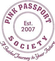 Pink Passport Society logo