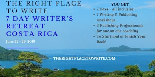 7-Day Writer's Retreat in Costa Rica (all inclusive)