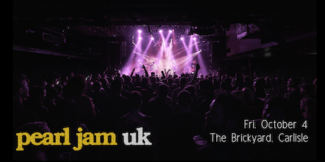 Pearl Jam UK - The Brickyard, Carlisle tickets