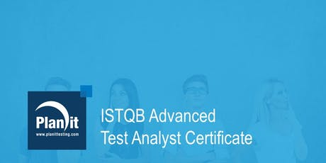 ISTQB Advanced Test Analyst Certificate Training Course - Brisbane tickets
